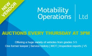 Image of Motability Operations banner.