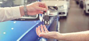 Big image of handing over car keys.