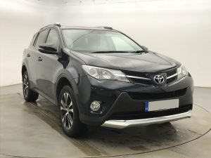 Front view image of a Toyota Rav 4.
