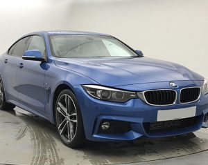 Front view image of BMW 4 Series