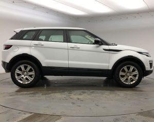 Image of a Range Rover Evoque