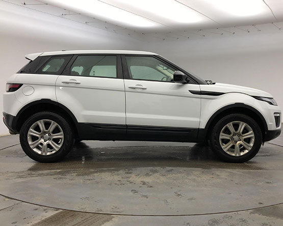 Image of a Range Rover Evoque