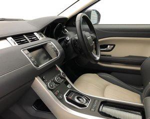 Big Image of inside a car.