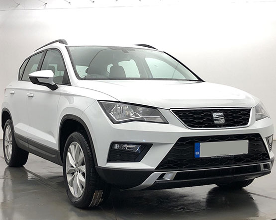 Front view image of a Seat Ateca