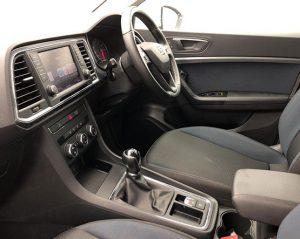 Inside view image of a Seat Ateca.